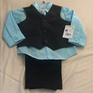 healthtex Matching Sets - 12 month little boy 4 piece set